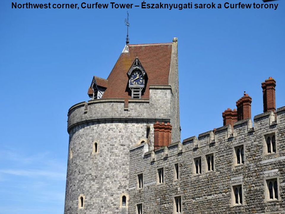 Northwest corner, Curfew Tower – Északnyugati sarok a Curfew torony