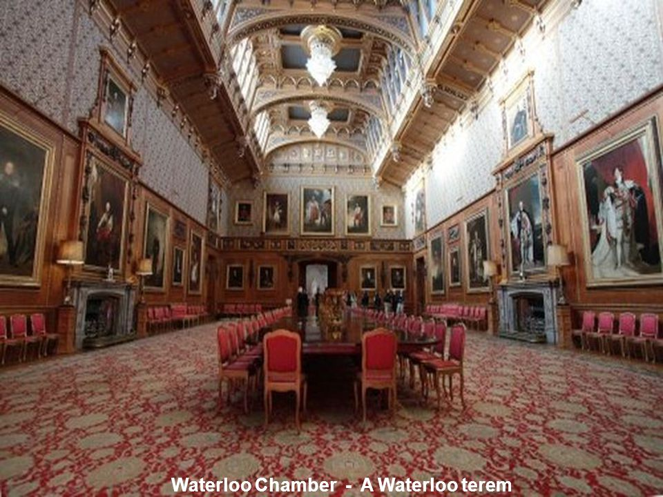 Waterloo Chamber - A Waterloo terem