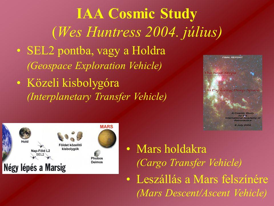 IAA Cosmic Study (Wes Huntress 2004. július)