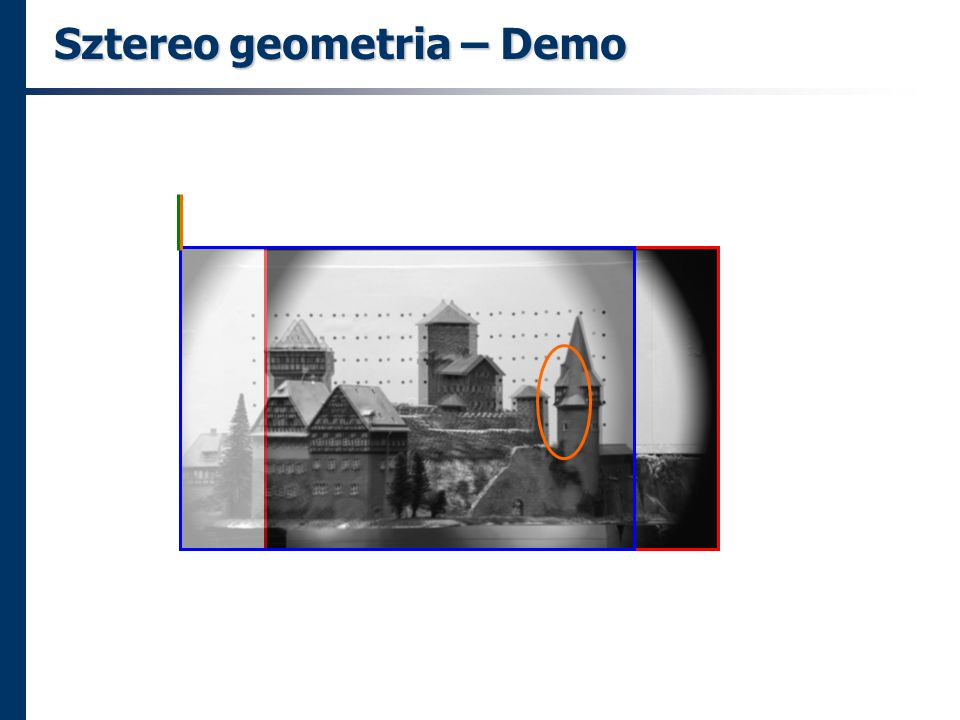 Sztereo geometria – Demo