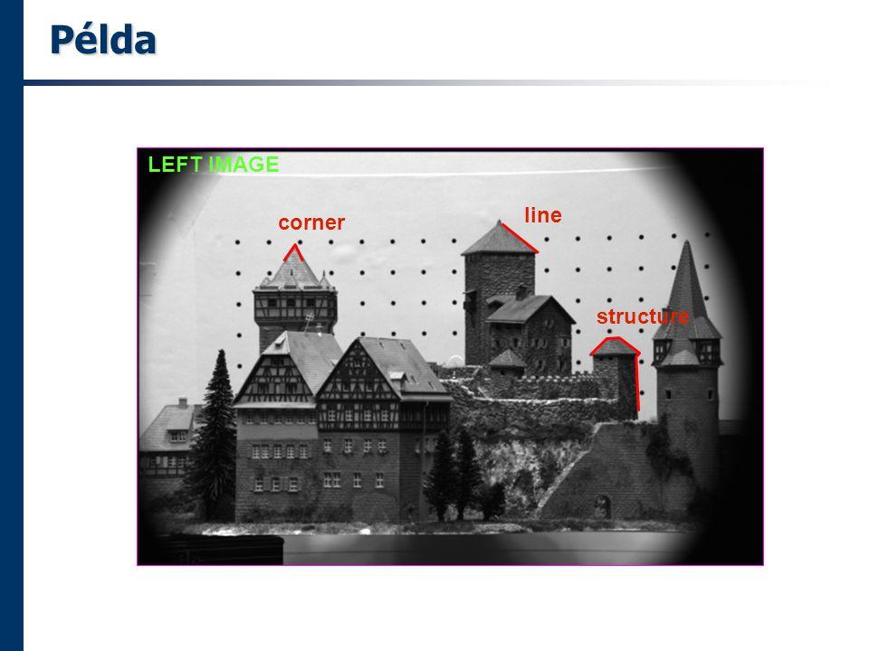 Példa LEFT IMAGE corner line structure
