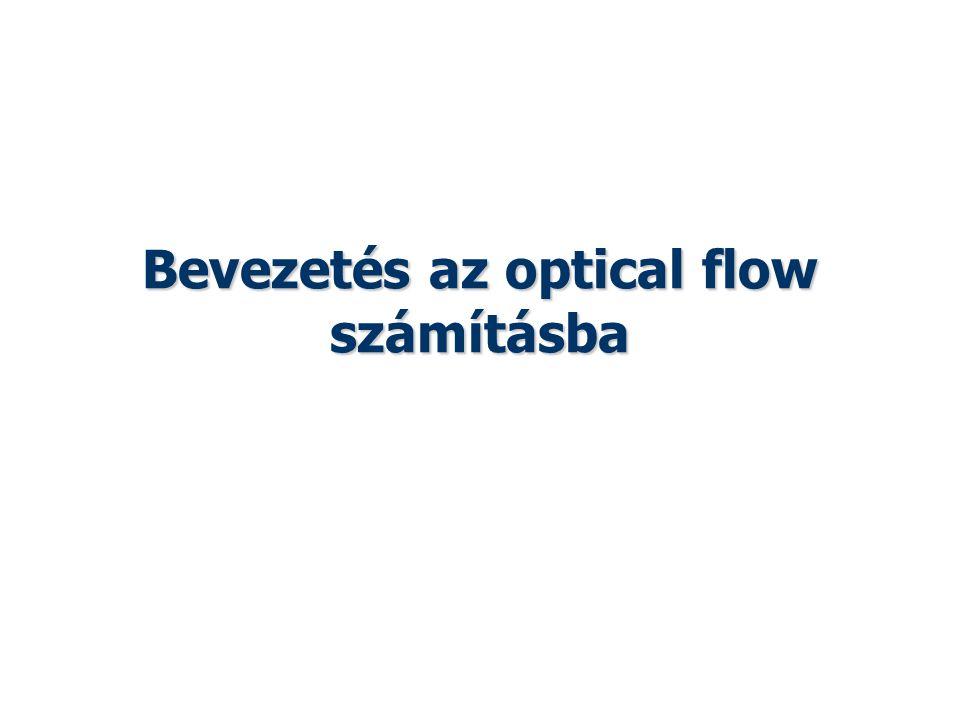 Bevezetés az optical flow számításba