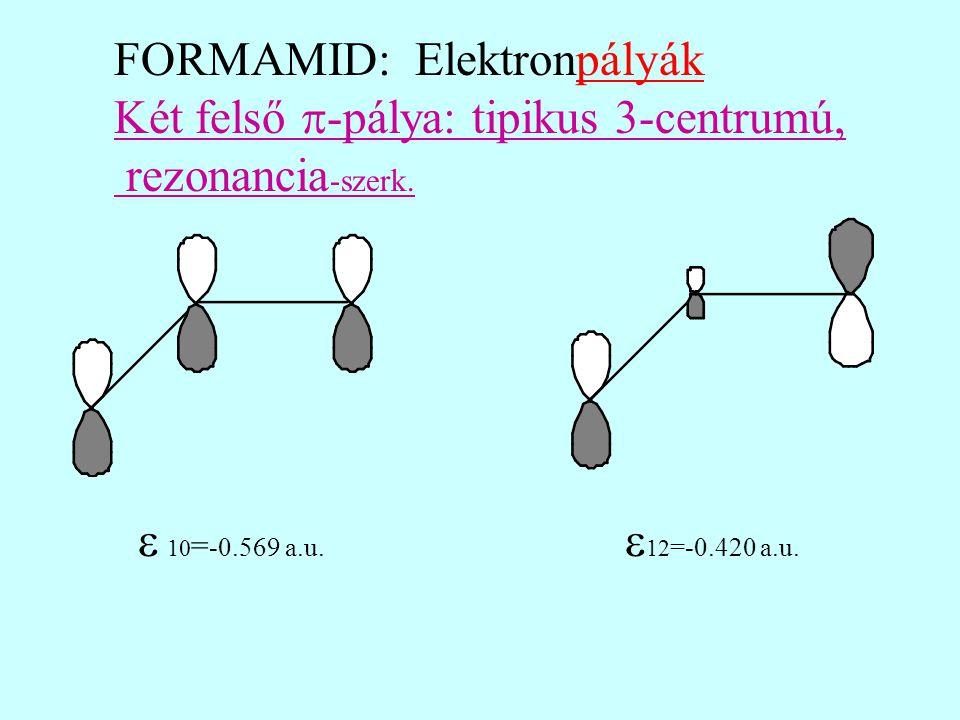 FORMAMID: Elektronpályák