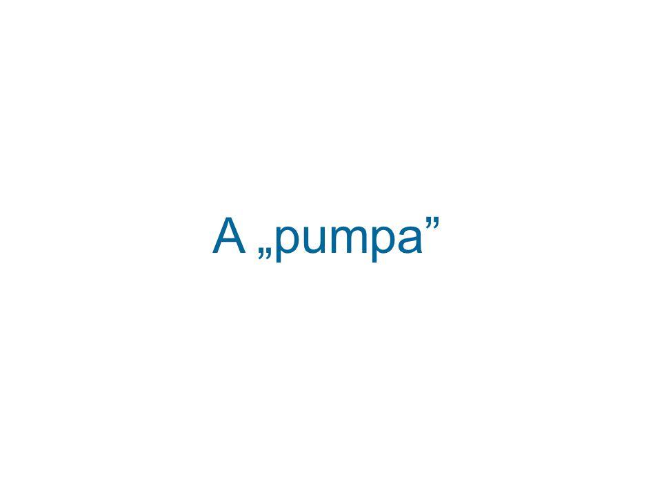 """A """"pumpa"""
