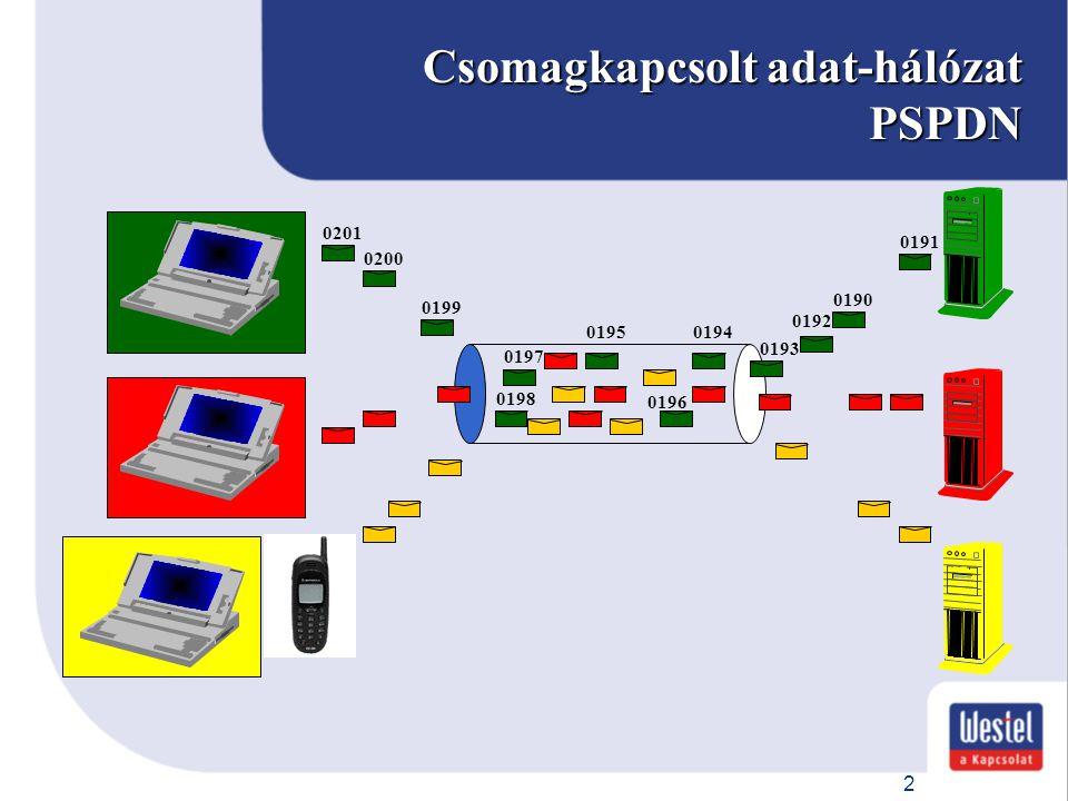 Csomagkapcsolt adat-hálózat PSPDN