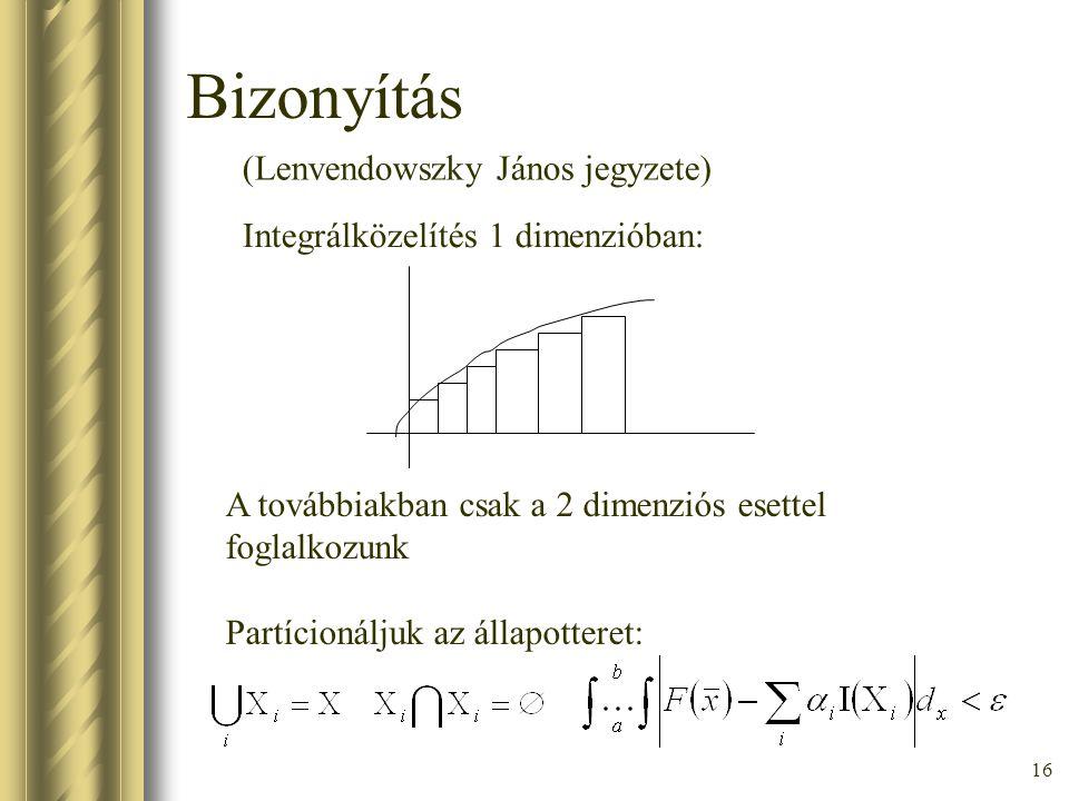 Bizonyítás (Lenvendowszky János jegyzete)