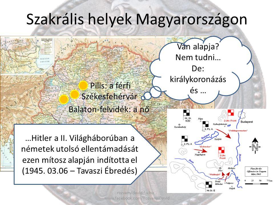 Szakrális helyek Magyarországon
