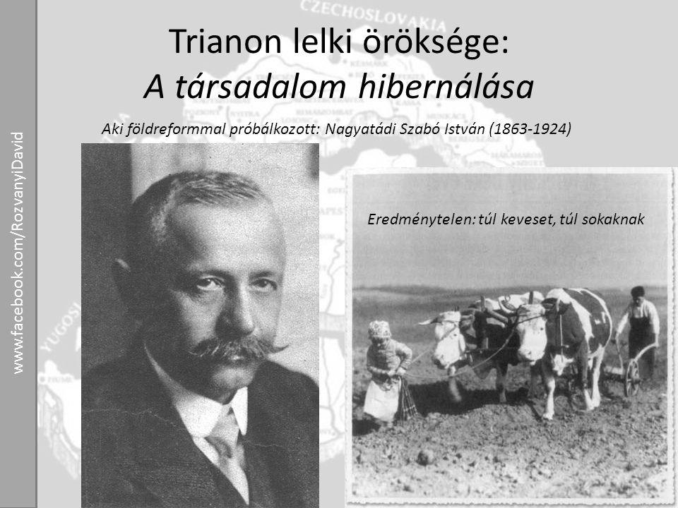 Trianon lelki öröksége: A társadalom hibernálása