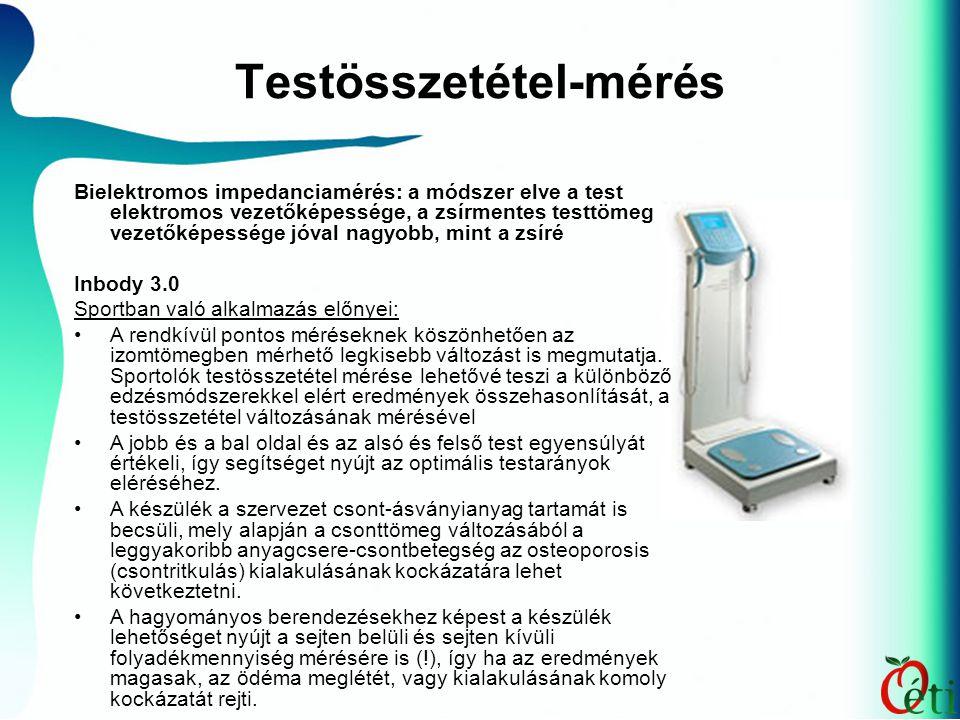 Testösszetétel-mérés