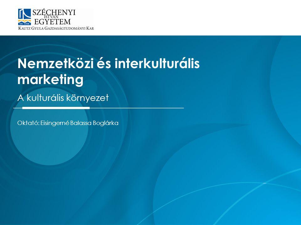 Nemzetközi és interkulturális marketing