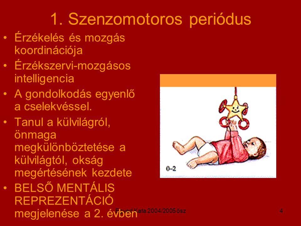 1. Szenzomotoros periódus