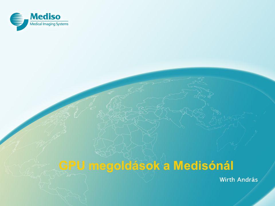 GPU megoldások a Medisónál