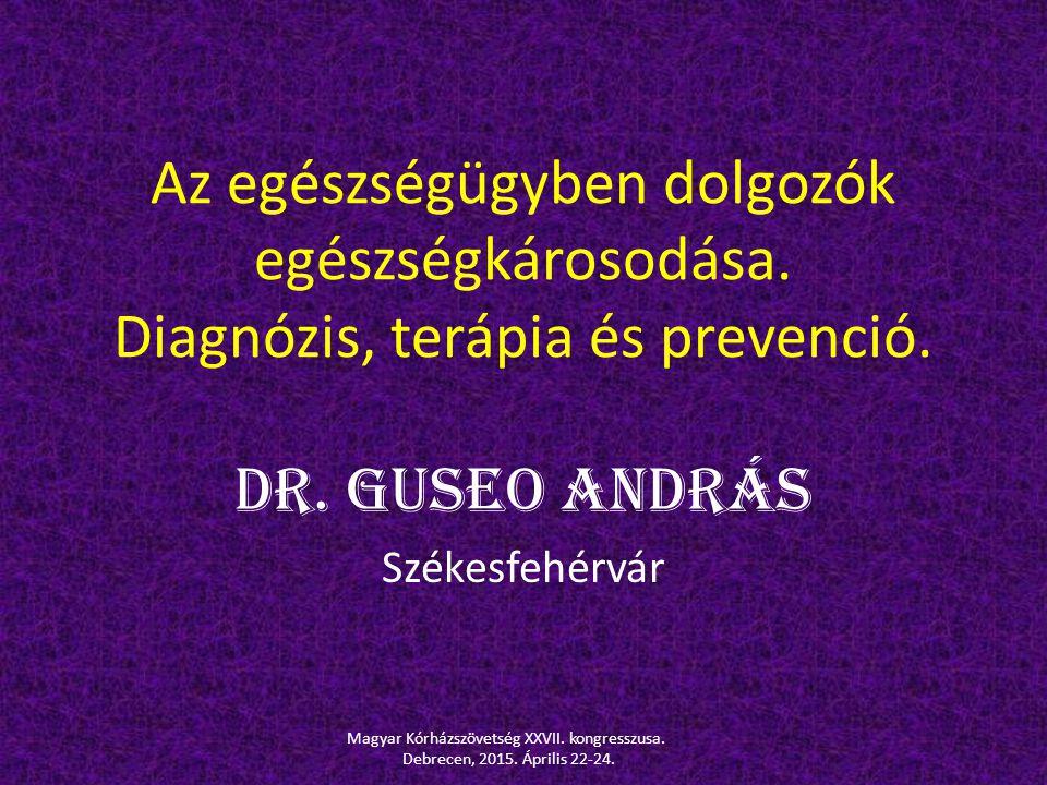 Dr. Guseo András Székesfehérvár
