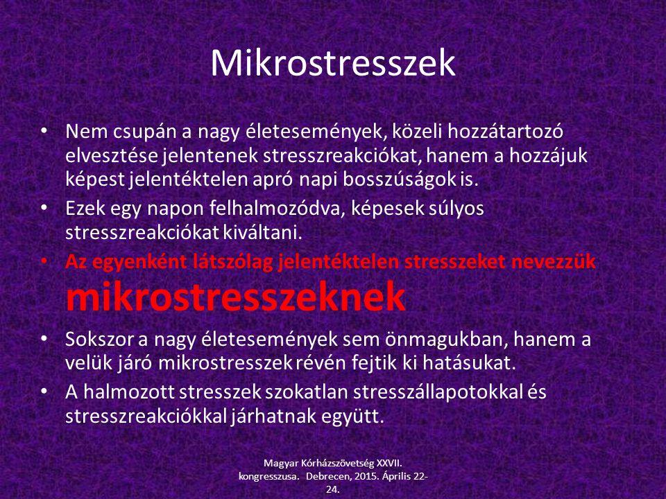 Mikrostresszek