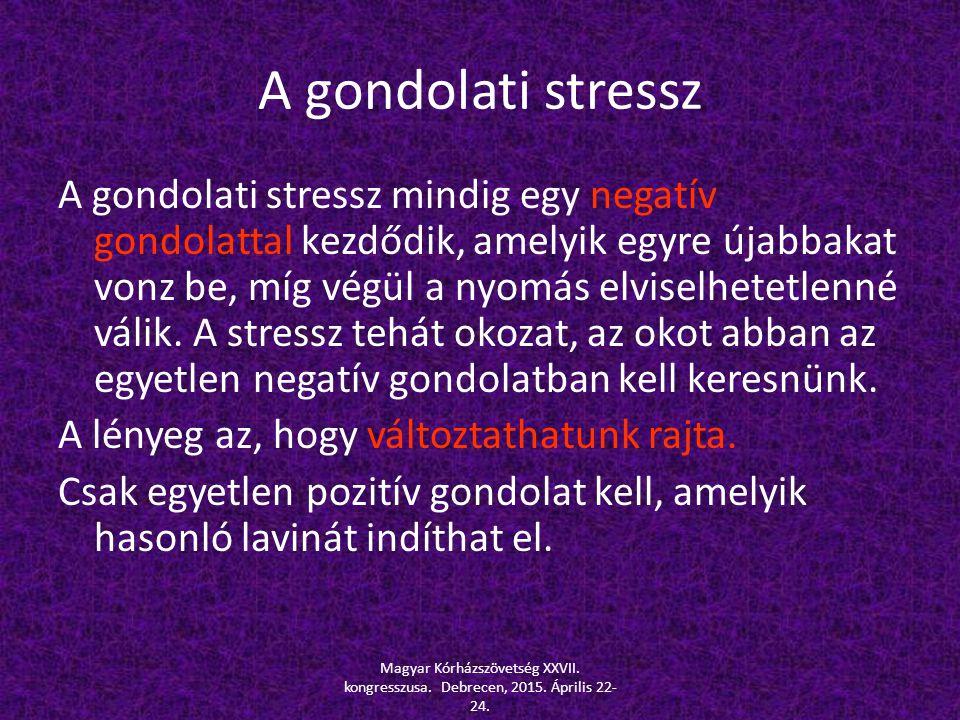 A gondolati stressz