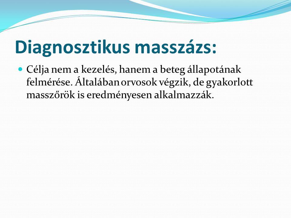 Diagnosztikus masszázs: