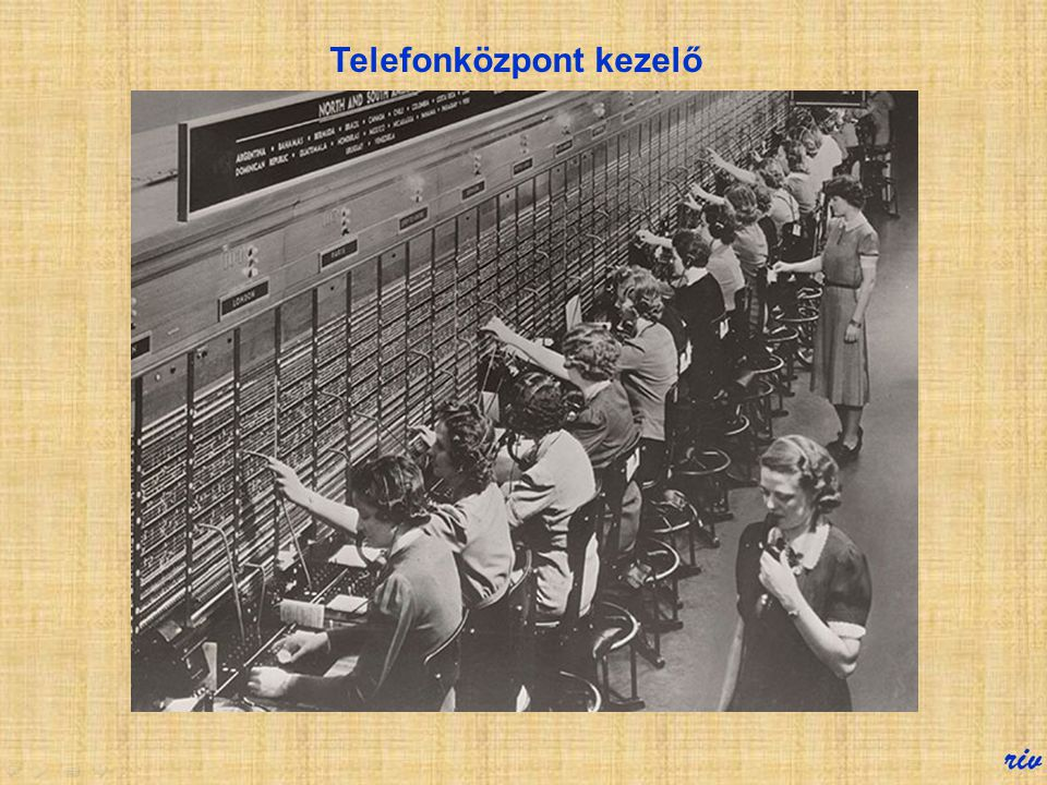 Telefonközpont kezelő
