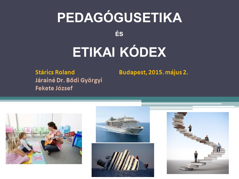 PedagógusEtika Etikai Kódex
