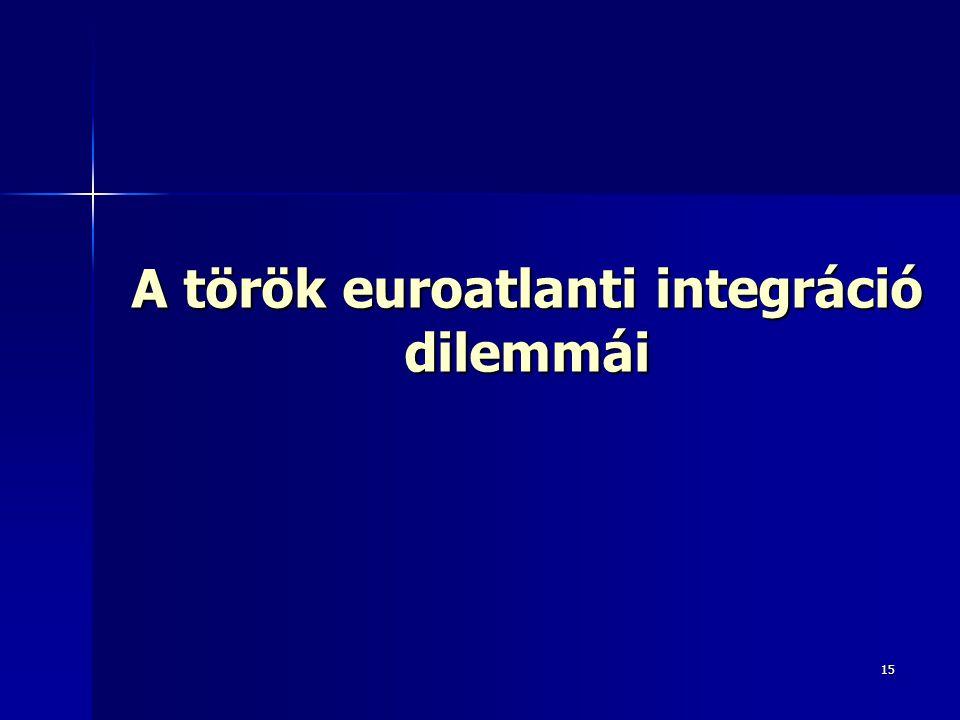 A török euroatlanti integráció dilemmái