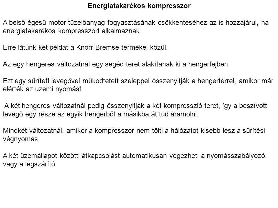 Energiatakarékos kompresszor
