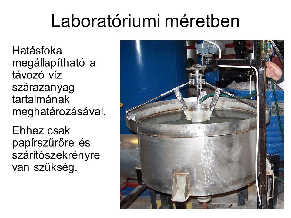 Laboratóriumi méretben