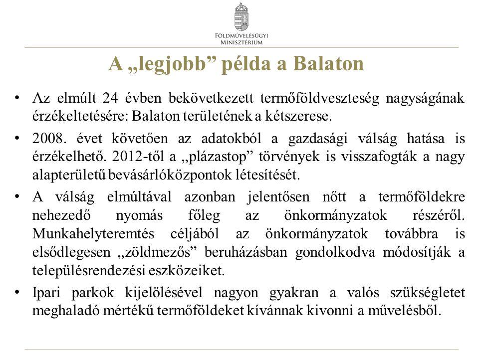 """A """"legjobb példa a Balaton"""