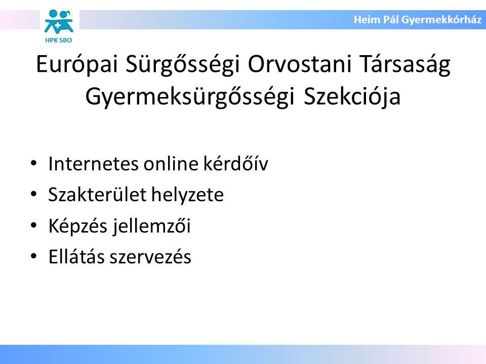 Európai Sürgősségi Orvostani Társaság Gyermeksürgősségi Szekciója