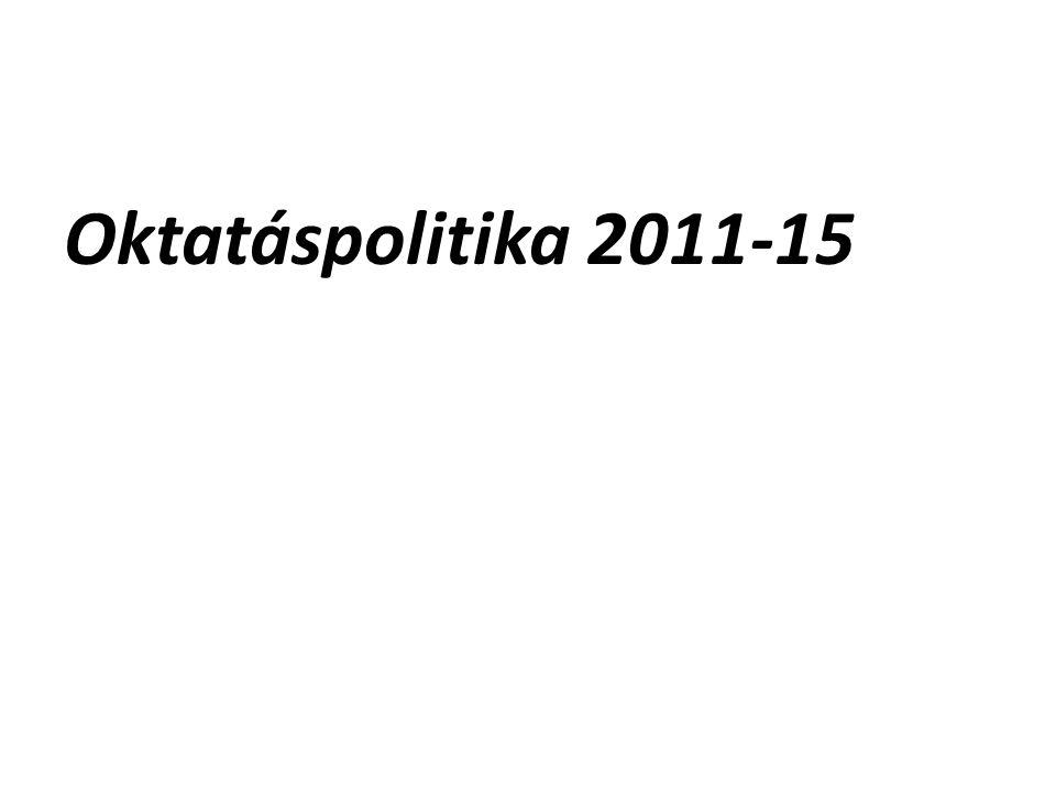 Oktatáspolitika 2011-15
