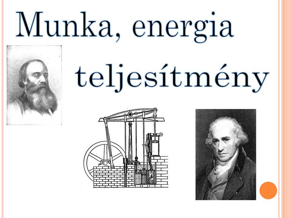 Munka, energia teljesítmény