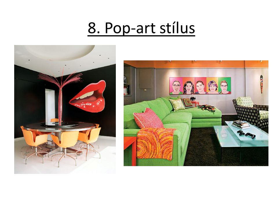 8. Pop-art stílus