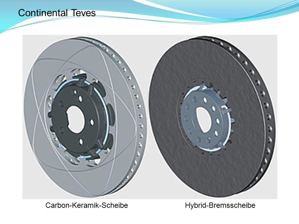 Continental Teves Carbon-Keramik-Scheibe Hybrid-Bremsscheibe
