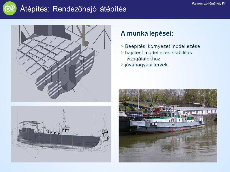 Átépítés: Rendezőhajó átépítés