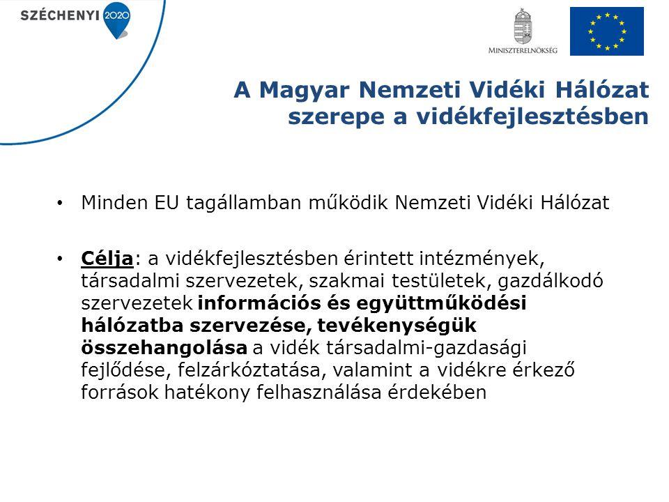 A Magyar Nemzeti Vidéki Hálózat szerepe a vidékfejlesztésben