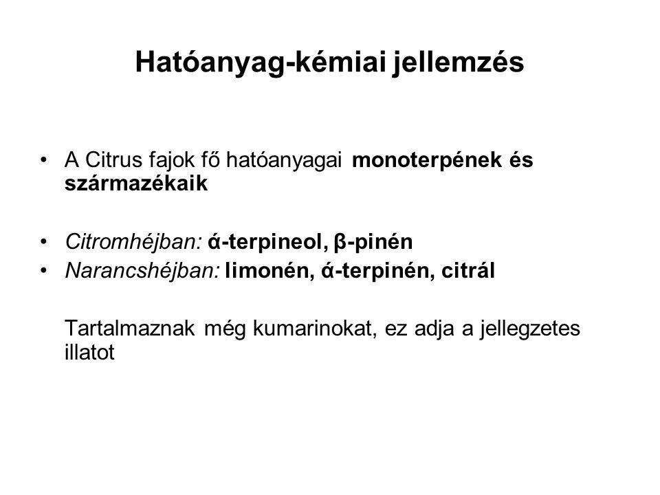 Hatóanyag-kémiai jellemzés