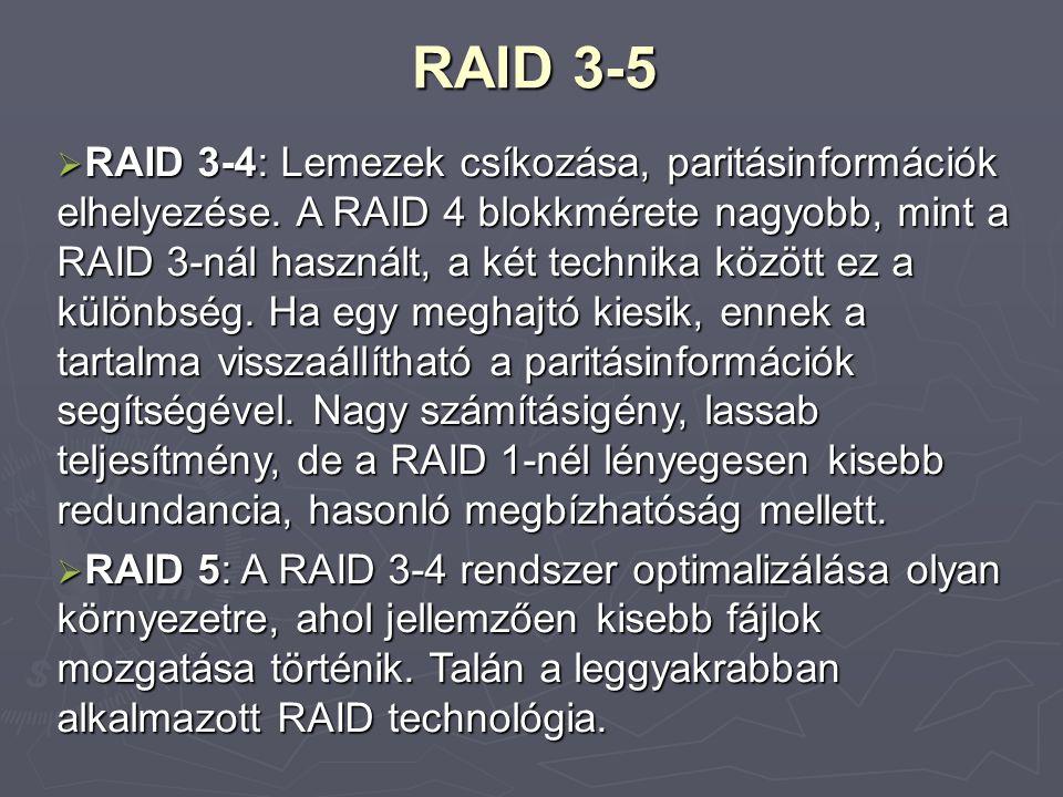 RAID 3-5