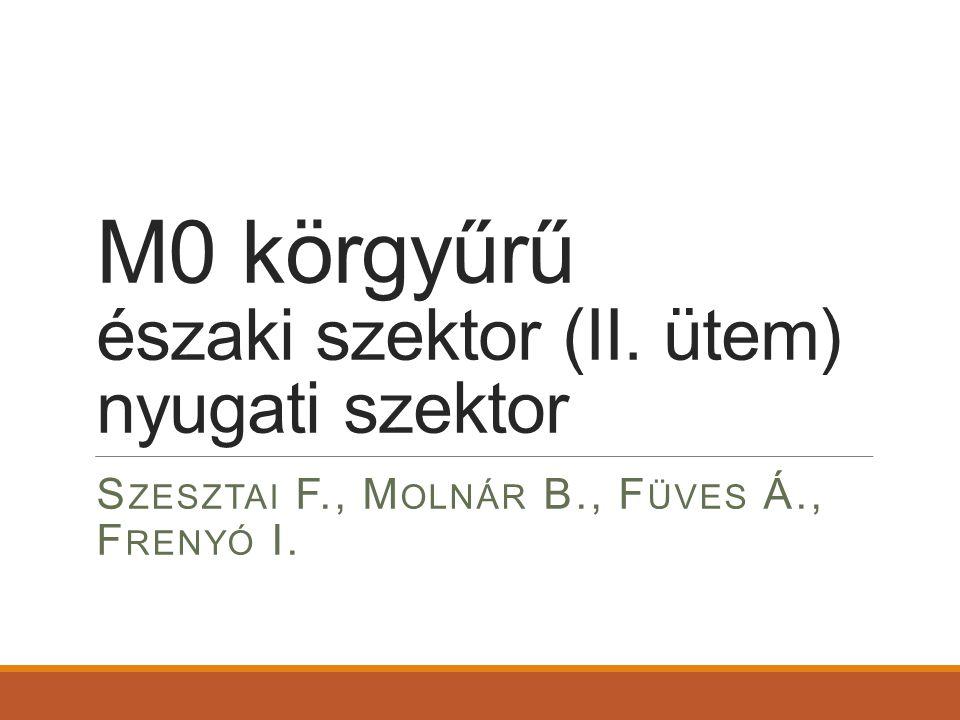 M0 körgyűrű északi szektor (II. ütem) nyugati szektor