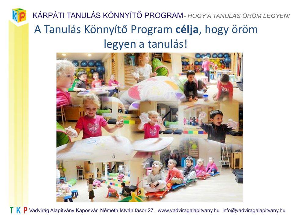 A Tanulás Könnyítő Program célja, hogy öröm legyen a tanulás!