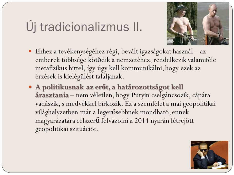 Új tradicionalizmus II.