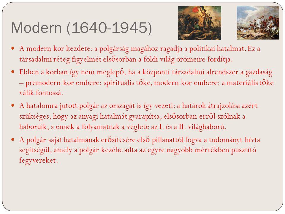 Modern (1640-1945)
