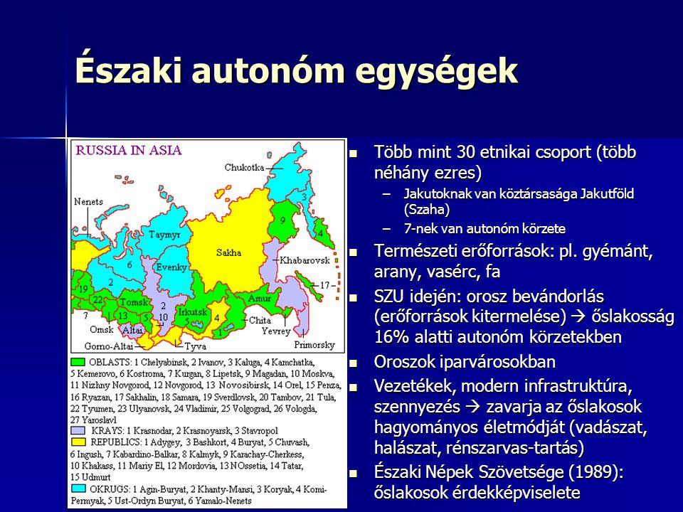 Északi autonóm egységek