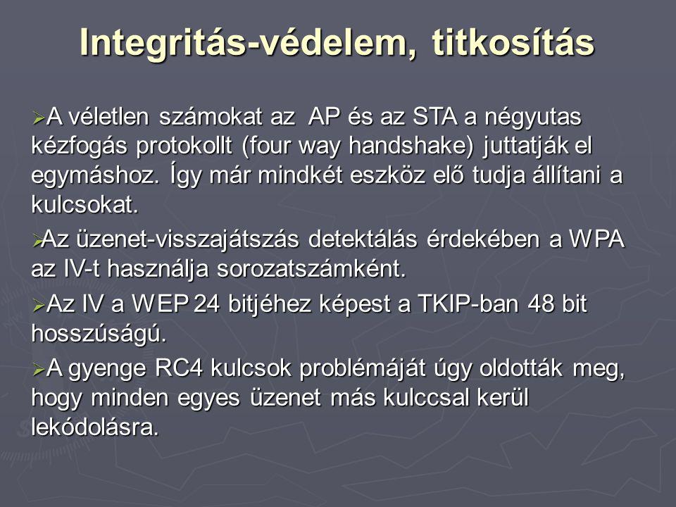 Integritás-védelem, titkosítás