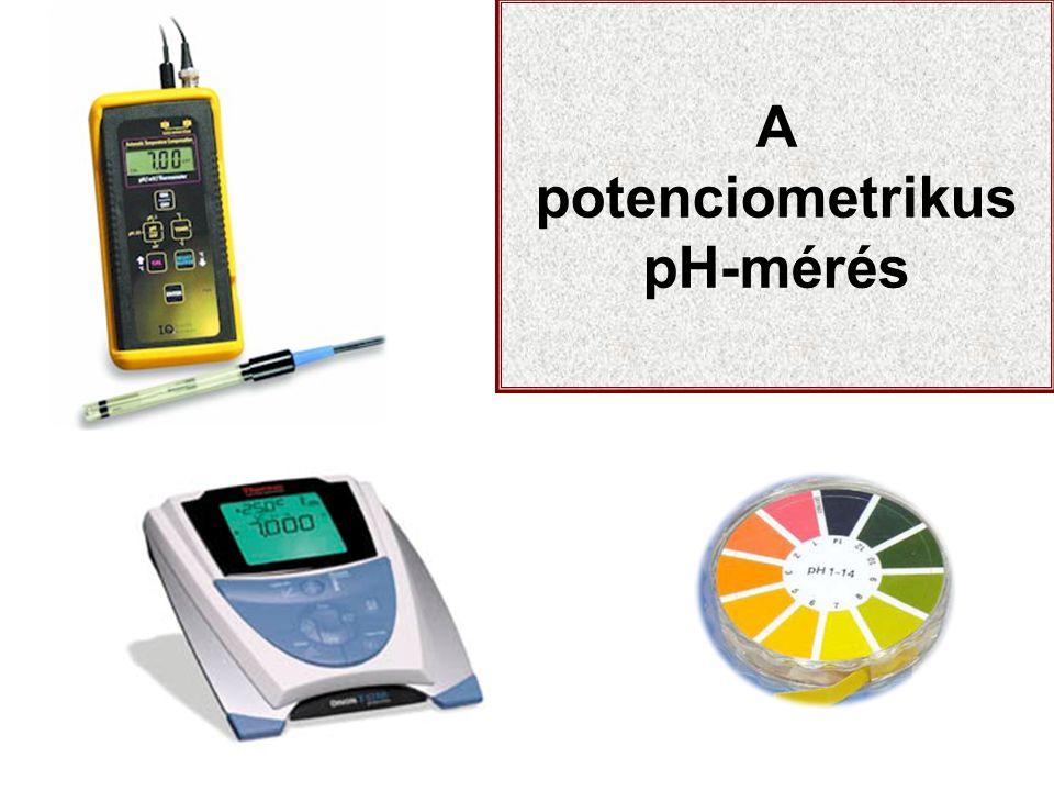 A potenciometrikus pH-mérés