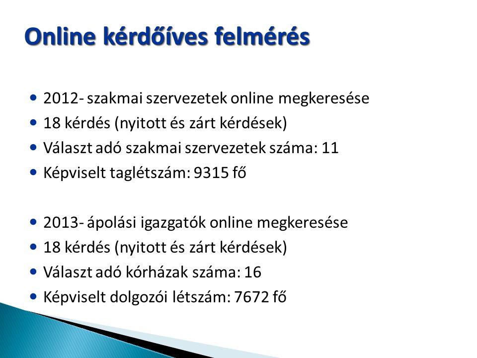 Online kérdőíves felmérés
