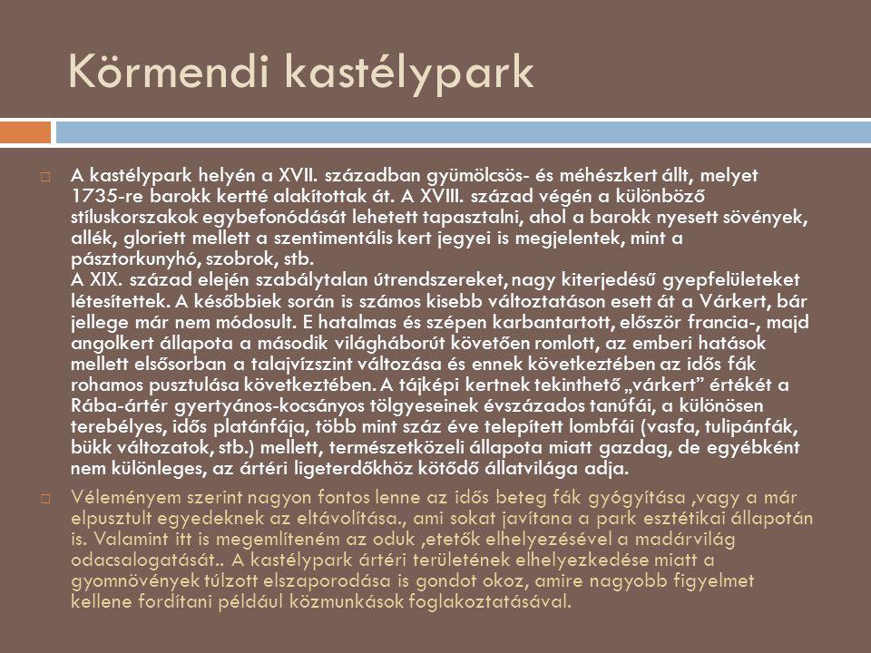 Körmendi kastélypark