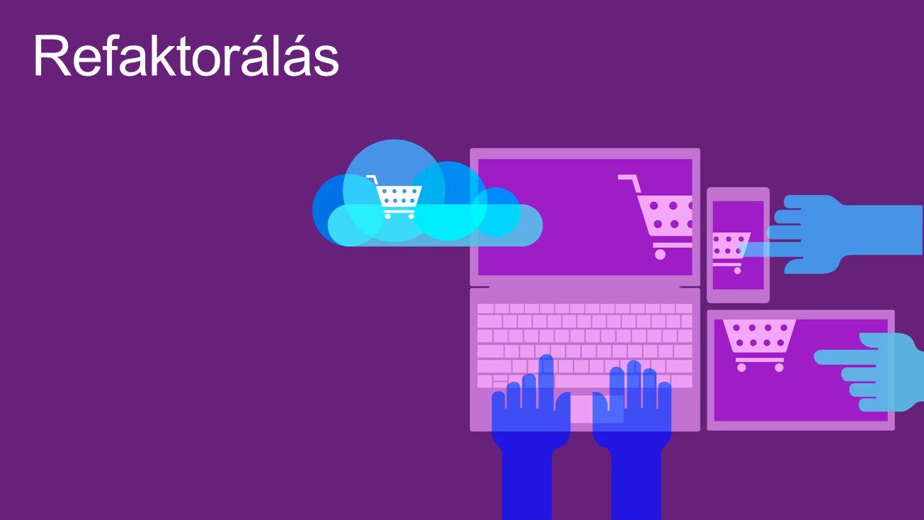 Refaktorálás Visual Studio 4/16/2017