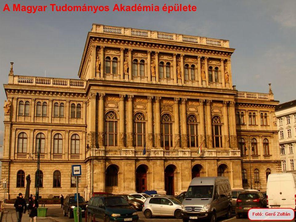 A Magyar Tudományos Akadémia épülete