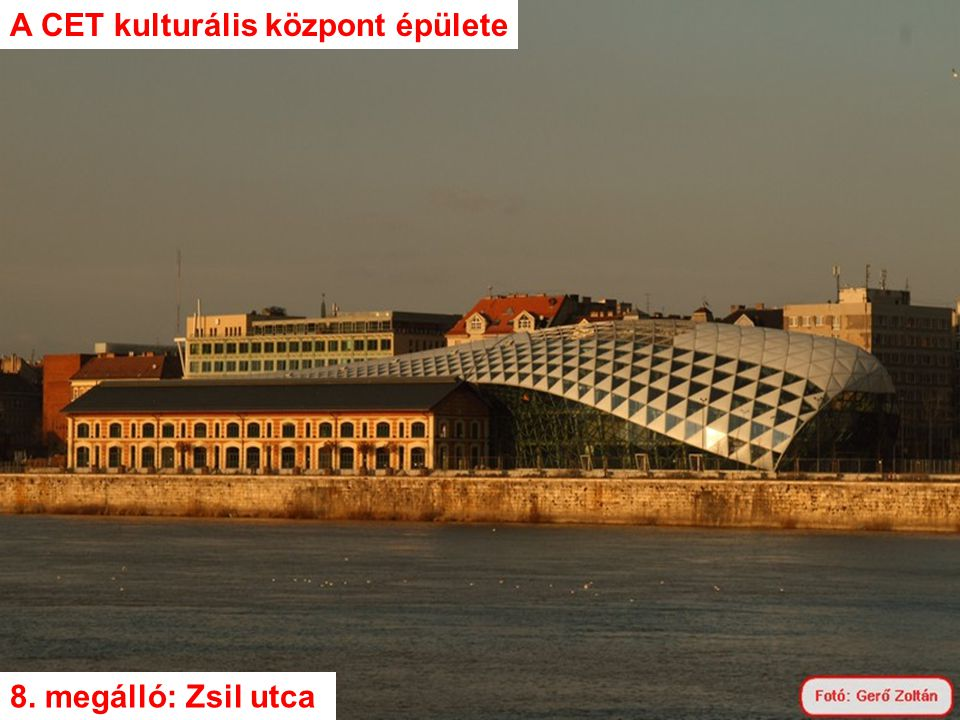 A CET kulturális központ épülete