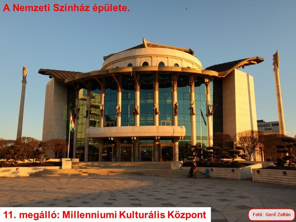 A Nemzeti Színház épülete.