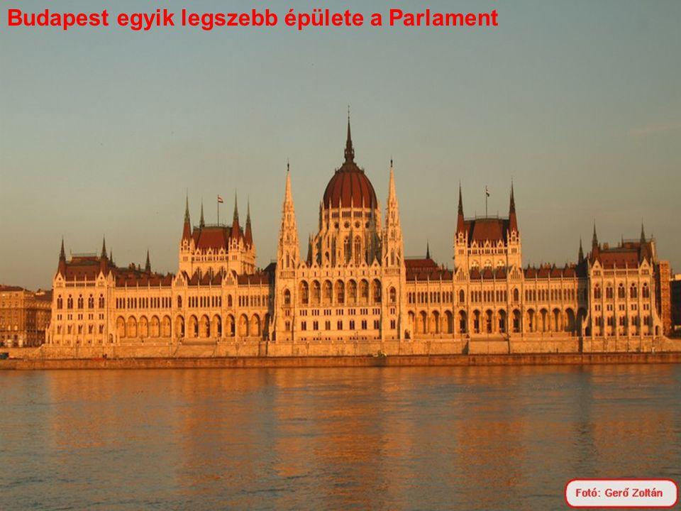 Budapest egyik legszebb épülete a Parlament
