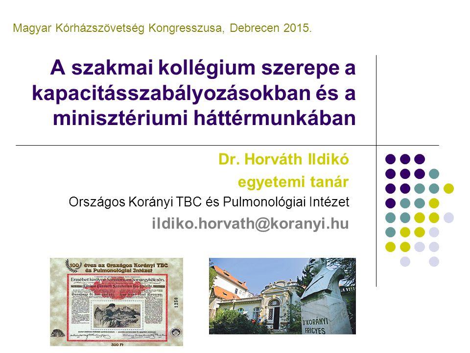 Magyar Kórházszövetség Kongresszusa, Debrecen 2015.